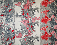SILK SCREEN PRINTED PATTERNS / INTERNALISATION PROJECT