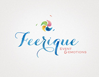 Feerique. Event agency logo
