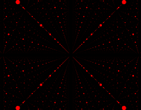 Infinity Space Dots 2 - Red- / HD, 4K Video