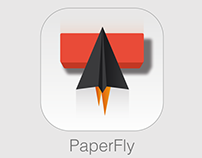 Paper Fly - Mobile Game UI and In-Game Design