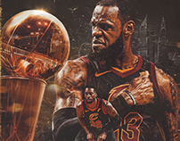 2018 Cleveland Cavaliers NBA Finals Graphics Package