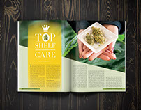Top Shelf Care Medical Marijuana Magazine Editorial