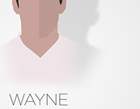 Wayne Rooney Vector Illustration