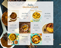 Chicken-Curry-Recipe Landing page