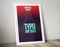 Concept Poster Design Typo Day 2016