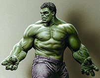 Drawing Hulk
