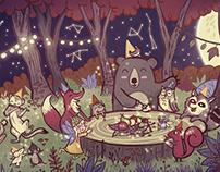 Fiesta en el Bosque