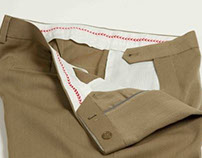 Whipcord trousers for the outdoors