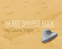 Book Cover Design: Heart Shaped Rock