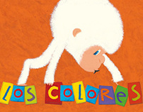 children's book: Little Snowflake discovers the colors