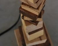 Scrap wood light