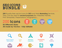 SEO Icons Bundle