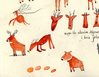 Dear Deer illustration