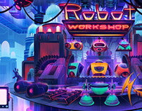 Robot Workshop Cover