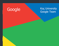 Koç University Google Team Booklet Design