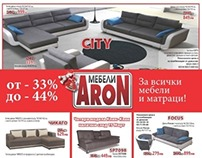 Flyer for Aron