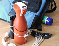 Bowsprite Windsurfer Water Bottle