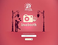 Design microsite - LoveBooth