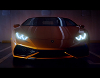 Lamborghini Huracán matte paintings