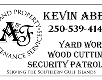 A&F 2-Sided Business Card