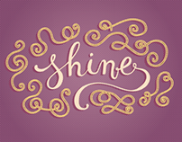 Shine - Personal Typography project