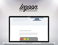 Legoon - HTML Building Blocks
