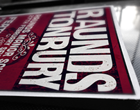 Raundstonbury Music Festival Poster Design