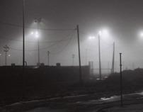 It was a foggy night