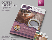 Coffee Shop Brochure Template | Modern Design