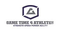 "Process for ""Game Time 4 Athletes"" logos"