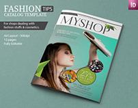 Fashion Magazine Indesign Template | Modern Design