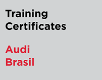Training Certificates - Audi Brasil