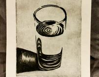 Intaglio print-work