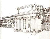 Architectural draws