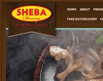 Sheba Dinning Web Site Design