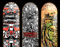 Adida Fallen Angel - Creation Skateboards