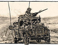 Graphic Novel Dutch forces in Afghanistan