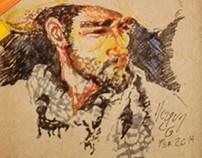 Self portrait/autorretrato