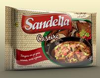 Embalagem Tempero Caseiro - Sandella