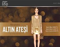 Altınbaş Life magazine, E-mailing series