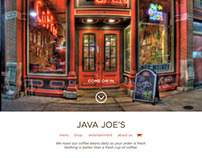 Java Joe's Coffeehouse Hypothetical Redesign