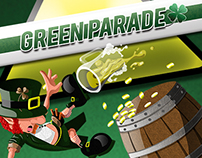 GREEN PARADE: St Patrick's Day Designs & Promotions