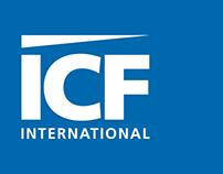 ICF International Sampler Platter Menu Poster