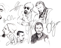 Sketching Backstreet Boys