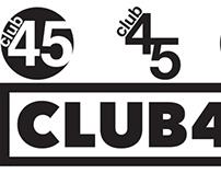 Logo Project - Club 45