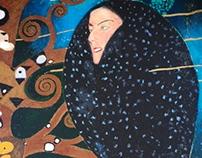 Gustav Klimt Dedication Mural
