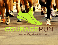 Courage Run Logo