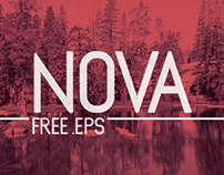 NOVA Type - Free EPS Typeface