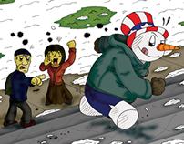 Freelancing: Frosty Balboa!