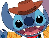 Stitch Woody